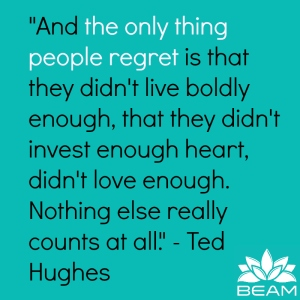 Ted Hughes quote